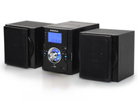 AudioSonic HF-1253 Set micro 10W Nero set audio da casa