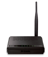 D-Link DIR-610 Fast Ethernet Nero router wireless