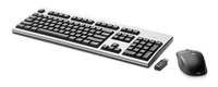 HP 2.4GHz Wireless Keyboard and Mouse RF Wireless tastiera