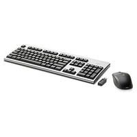 HP 2.4GHz Wireless Keyboard and Mouse RF Wireless QWERTY tastiera