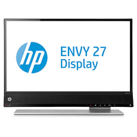"HP ENVY 27 27"" Full HD IPS Nero, Argento monitor piatto per PC"