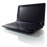 "Acer Aspire one A110X ""Black Edition"" 1.6GHz N270 8.9"" 1024 x 600Pixel Nero Netbook"