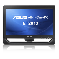 "ASUS ET ET2013IGTI-B010C 2.8GHz i5-3450S 20"" 1600 x 900Pixel Touch screen Nero All-in-One PC"