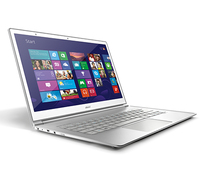 "Acer Aspire S7-91-73534G25aws 2GHz i7-3537U 13.3"" 1920 x 1080Pixel Touch screen Argento, Bianco Computer portatile"