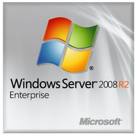 DELL Windows Server 2008 R2 Enterprise, SP1, 64-bit, 10 CAL, ROK Kit, FRE