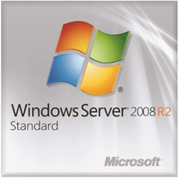 DELL Windows Server 2008 R2 Standard, SP1, x64, 5 CAL, ROK Kit, DEU
