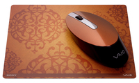 Sony Bluetooth Laser Mouse & Pad set, Caramel Bluetooth Laser 800DPI mouse