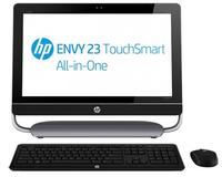 "HP ENVY TouchSmart 23-d110ef 3.3GHz i3-3220 23"" 1920 x 1080Pixel Touch screen Nero"