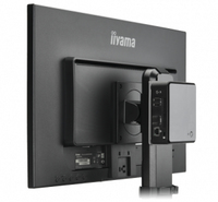 iiyama MD BRPCV01 Desk stand CPU holder Nero supporto per CPU