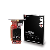 CLUB3D HD 4550 512MB GDDR3 GDDR3