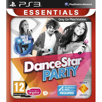 Sony DanceStar Party Essentials, PS3 PlayStation 3 videogioco