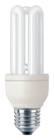 Philips Genie 872790082735400 14W E27 A Bianco caldo lampada fluorescente energy-saving lamp