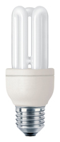 Philips Genie 872790082731600 11W E27 A Bianco caldo lampada fluorescente energy-saving lamp