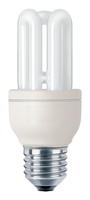 Philips Genie 872790082788000 8W E27 A Bianco caldo lampada fluorescente energy-saving lamp