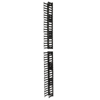 APC AR7580A Straight cable tray Nero blindosbarra