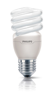 Philips Tornado 872790092946100 15W E27 A Bianco caldo lampada fluorescente energy-saving lamp