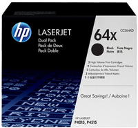 HP 2 x CC364XD Laser cartridge 24000pagine Nero