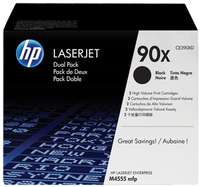 HP 2 x CE390XD Laser cartridge 24000pagine Nero