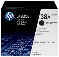 HP 2 x Q1338D Laser cartridge 12000pagine Nero