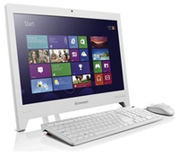 "Lenovo C245 1.4GHz E1-1200 18.5"" Bianco PC All-in-one"