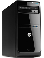 HP Pro 3500 2.6GHz G1610 Microtorre Nero PC