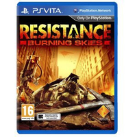 Sony Resistance: Burning Skies, PS Vita PlayStation Vita Inglese videogioco