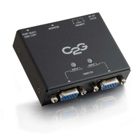 C2G 2-Port VGA Auto Switch VGA commutatore video