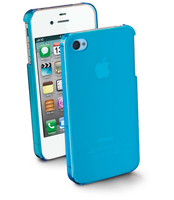 Cellularline COOLIPHONE4SB Cover Blu custodia per cellulare