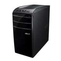 ASUS CM 6870-IT010S 3.4GHz i7-3770 Scrivania Nero PC