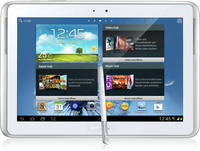 Samsung Galaxy Note 10.1 3G 4G Bianco tablet