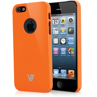 V7 Custodia High Gloss per iPhone 5s | iPhone 5 arancione