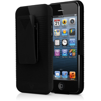 V7 Custodia Clip-on Holster per iPhone 5s | iPhone 5 nero