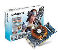 Gigabyte GV-N98TOC-512H GeForce 9800 GT GDDR3 scheda video