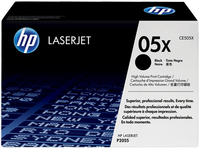 HP 2 x CE505X Laser cartridge 6500pagine Nero