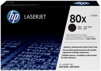 HP 2 x CF280X Laser cartridge 6900pagine Nero
