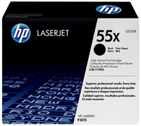 HP 2 x CE255X Laser cartridge 12500pagine Nero