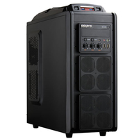 Gigabyte GZ-G3 PLUS Midi-Tower Nero vane portacomputer