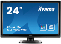 "iiyama ProLite E2482HS-GB1 23.6"" Full HD TN+Film Nero monitor piatto per PC"