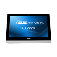 "ASUS ET 2220INTI-B041K 3.3GHz i3-3220 21.5"" 1920 x 1080Pixel Touch screen Nero, Argento"