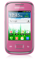 Samsung Galaxy Pocket Plus GT-S5301 SIM singola Rosa