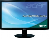 "Acer S1 S221HQLEbd 21.5"" Full HD Nero monitor piatto per PC"