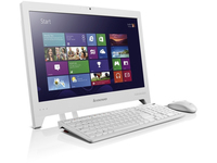 "Lenovo Essential C240 1.1GHz 847 18.5"" 1366 x 768Pixel Touch screen Bianco PC All-in-one"