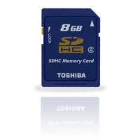 Toshiba SDHC 8GB 8GB SDHC memoria flash