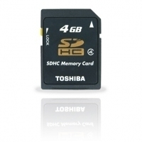 Toshiba SD Card 4Gd 4GB SD memoria flash