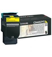 Lexmark 0C544X2YG C544, X544 Yellow Extra High Yield Toner Cartridge 4000pagine Giallo