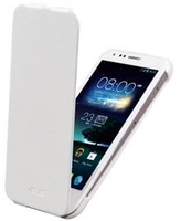 ASUS PadFone 2 Bottom Flip Cover Custodia a libro Bianco