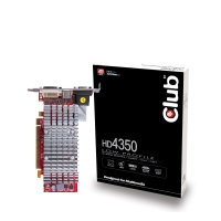 CLUB3D HD 4350 512MB GDDR2 GDDR2