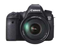 Canon EOS 6D EF 24-105mm f/4L IS USM Kit fotocamere SLR 20.2MP CMOS 5472 x 3648Pixel Nero