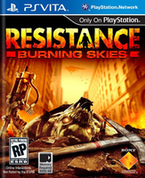 Sony Resistance: Burning Skies, PS Vita PlayStation Vita videogioco