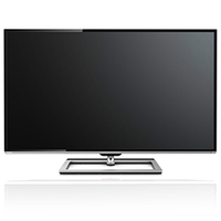 "Toshiba 58L7363DG 58"" Full HD Compatibilità 3D Smart TV Wi-Fi Alluminio, Nero LED TV"